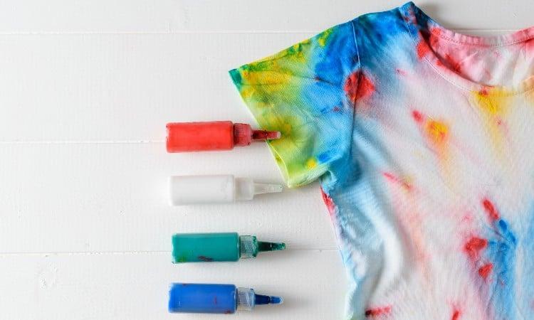 Acrylic fabric dye