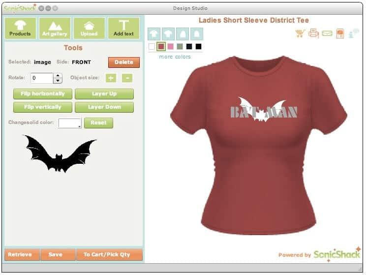 Best software for t shirt design
