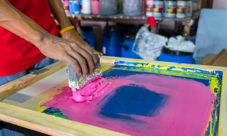 Can You Screen Print on Polyester