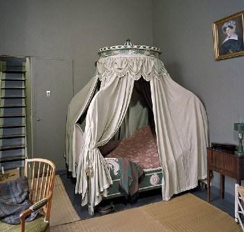 Canopy bed fabrics