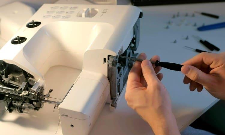 DIY sewing machine repair