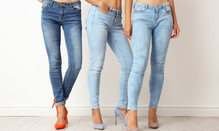 Difference Between Skinny and Slim Jeans Women