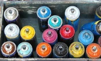 Spray Paint Fabric