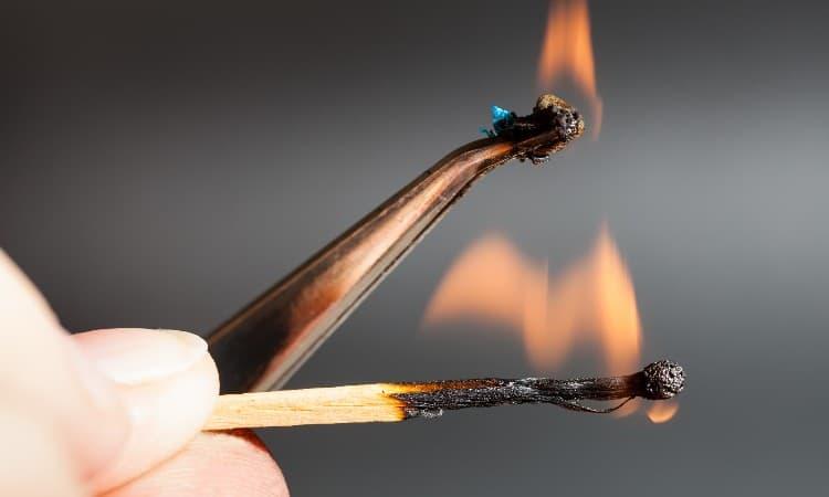 Fabric Burn Test