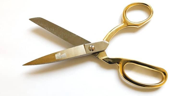 Fabric scissors vs regular scissors