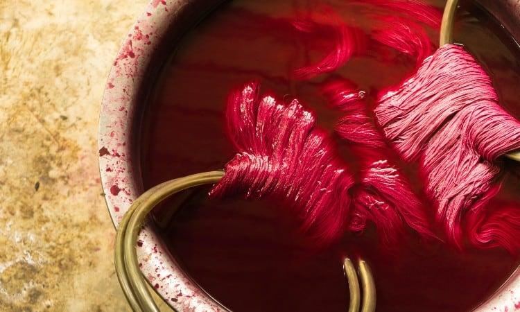 How To Dye Silk Yarn