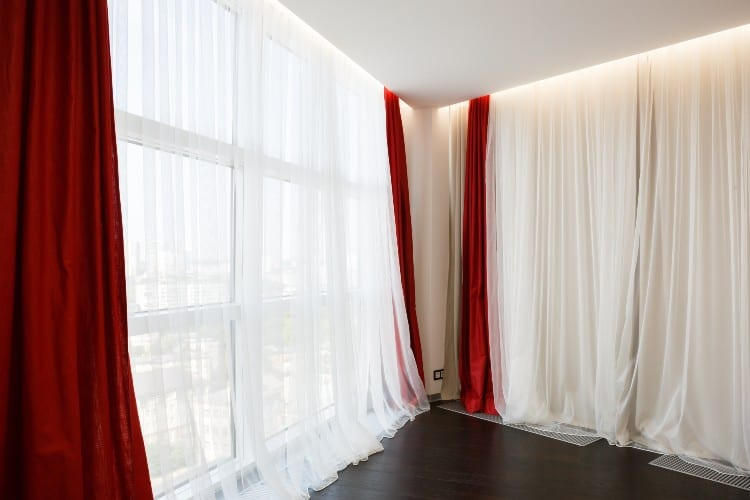 How many yards of fabric for 108-Inch Curtains