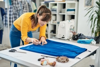 How much fabric to make a skirt