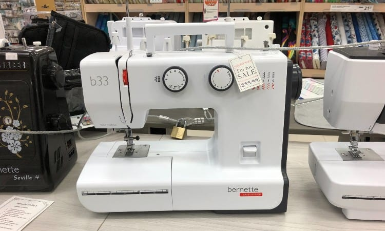 How much is a bernina sewing machine