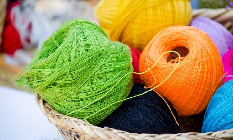 How to Dye Nylon Yarn