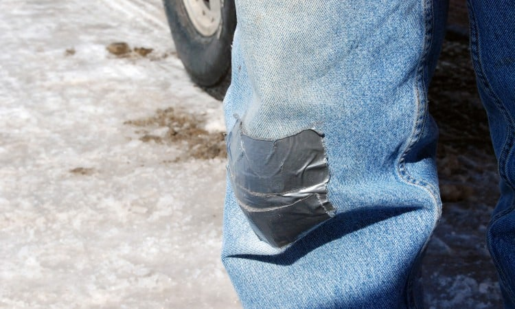 How to Get Duct Tape Residue off Clothes