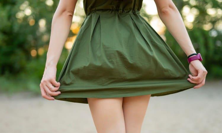 How to Shorten a Dress