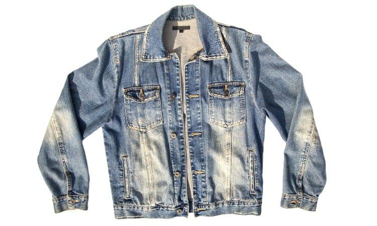 How to bleach denim jacket