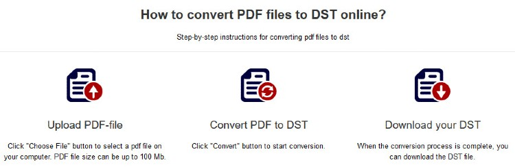 How to create a dst file