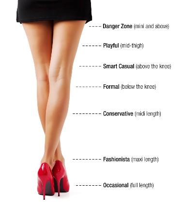 How to make a long dress short
