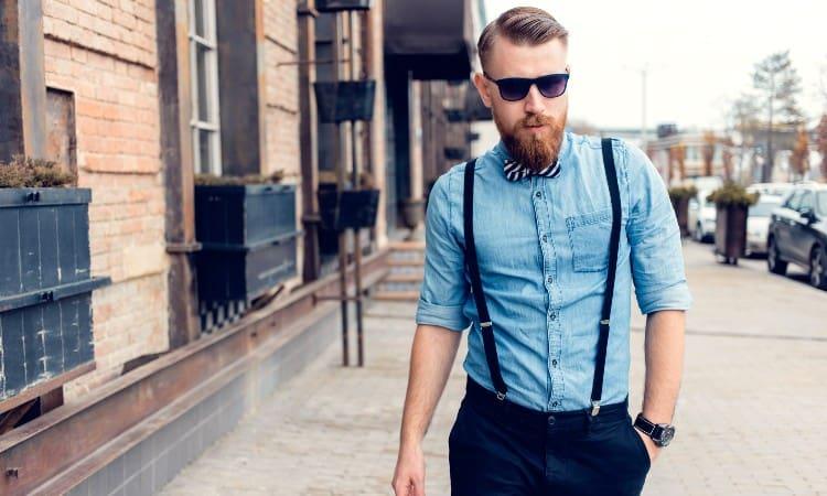 How to tighten suspenders