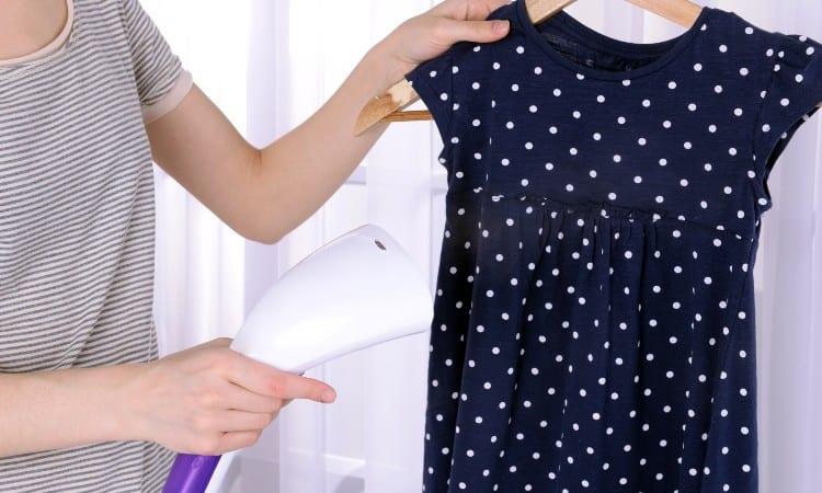 Ironing polyester
