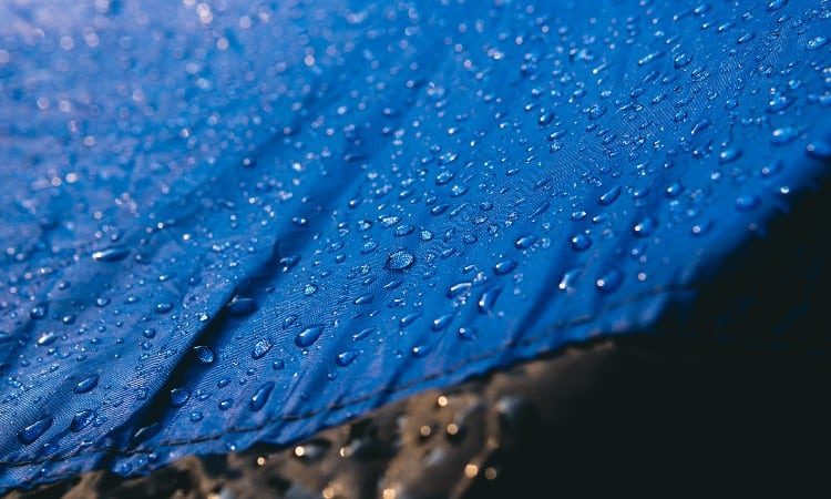 Nylon and polyester fabric
