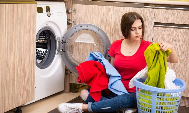Polyester washing machine