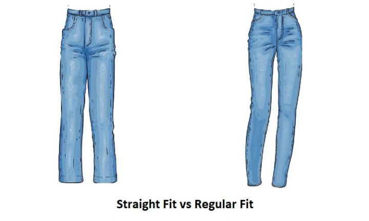 Regular Fit vs Straight Fit