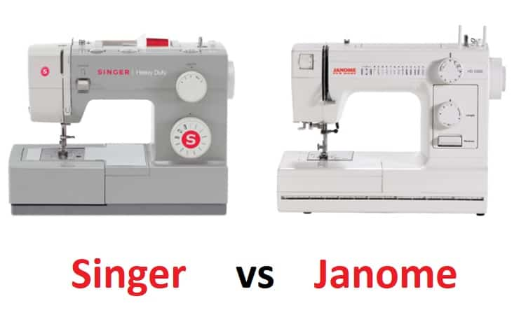 Singer vs Janome Sewing Machines