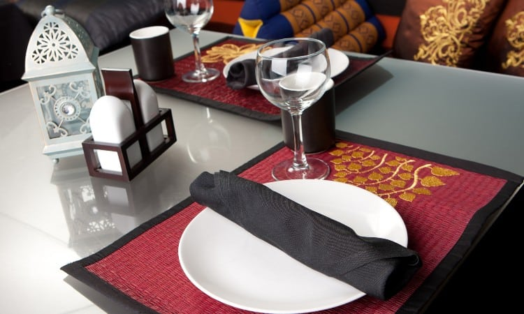 Standard Placemat Size
