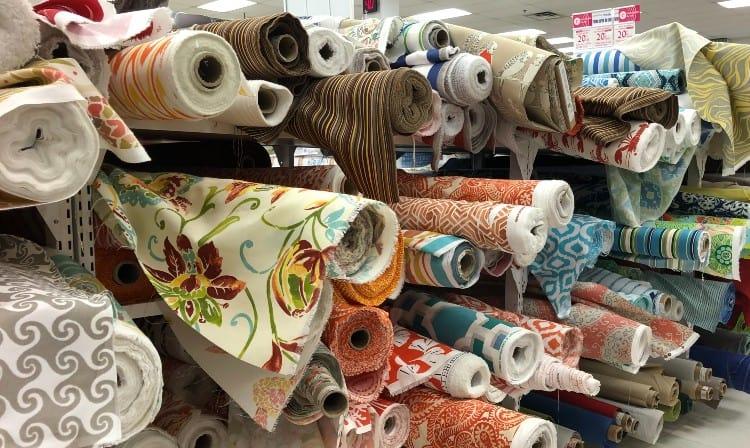 Standard fabric widths
