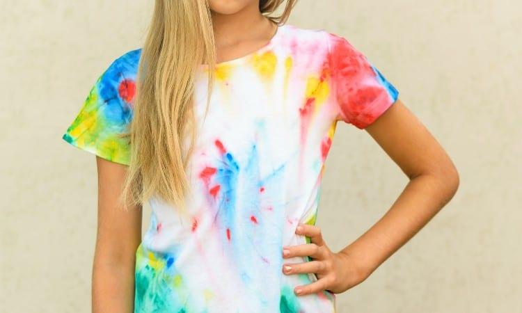 Tshirt dyeing