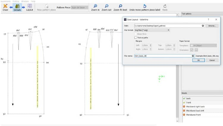 sewing pattern software