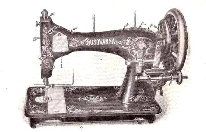 Vintage Viking Sewing Machine Models 1
