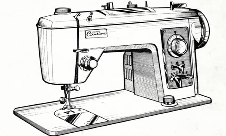 Vintage Wizard Sewing Machine