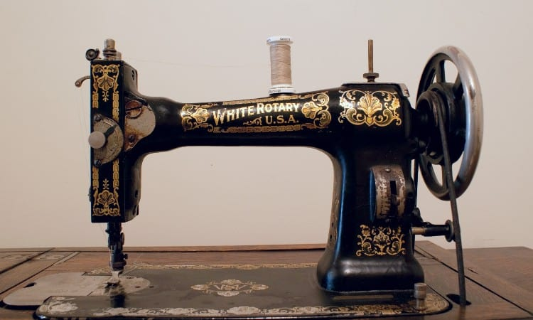 White Sewing Machine